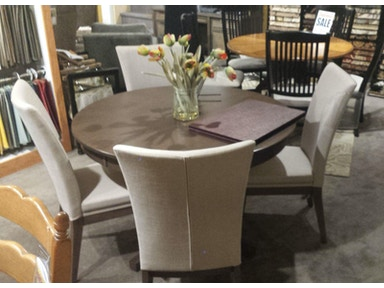Canadel Round Table + 4 chairs TAB4848 + CHA5014