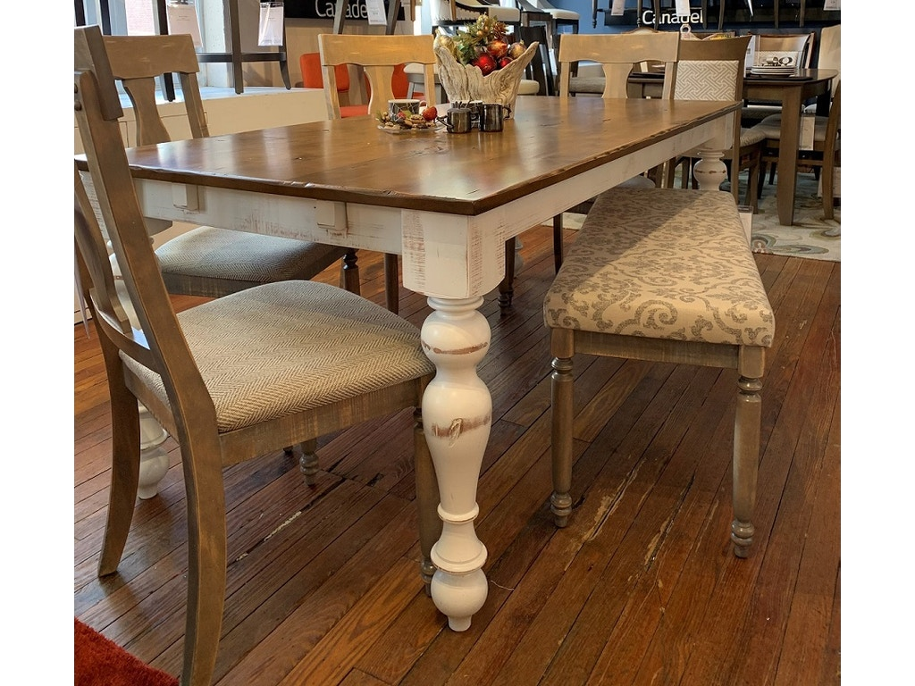 Canadel Champlain Dining Set With Bench