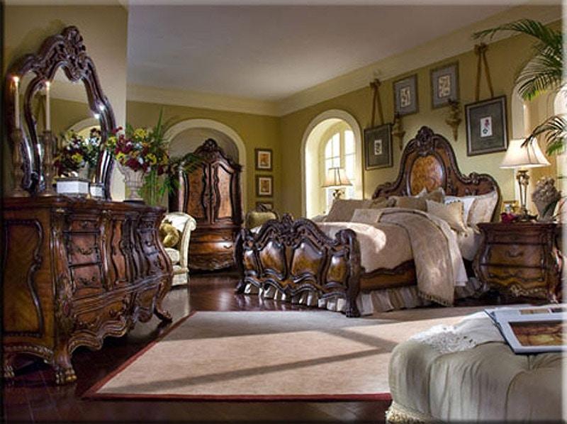 Good Aico Amini Innovations Rococo Styled Bedroom Chateau Beauvais Bedroom