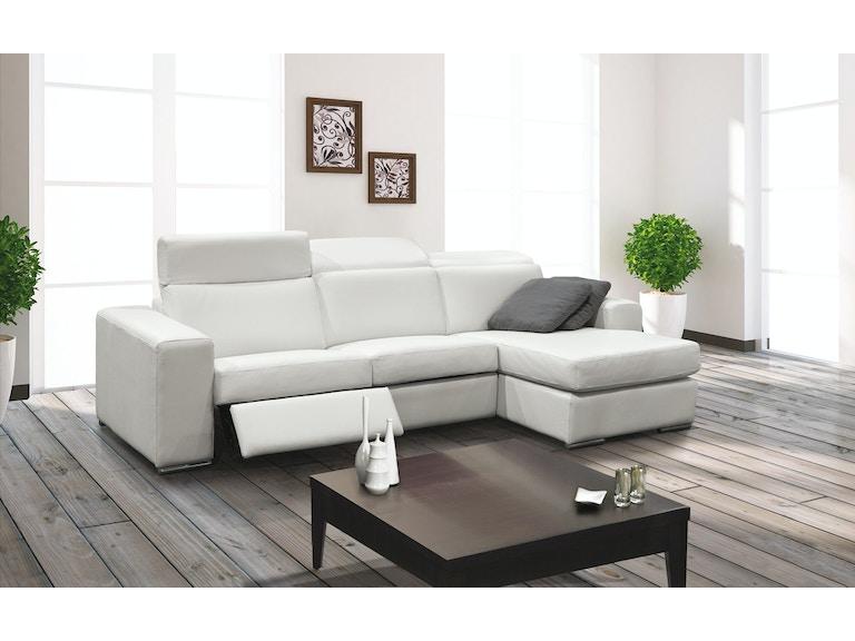 Outstanding Dario Leather Sofa Dailytribune Chair Design For Home Dailytribuneorg