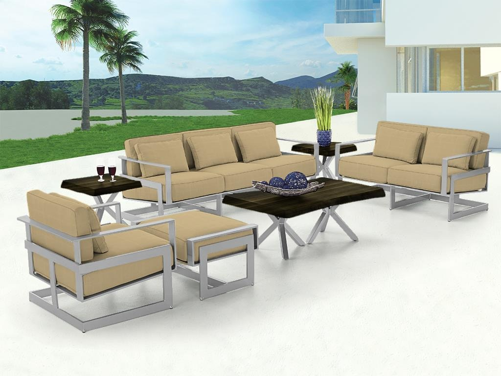 Castelle Contemporary Outdoor Seating Eclipse Deep Seating