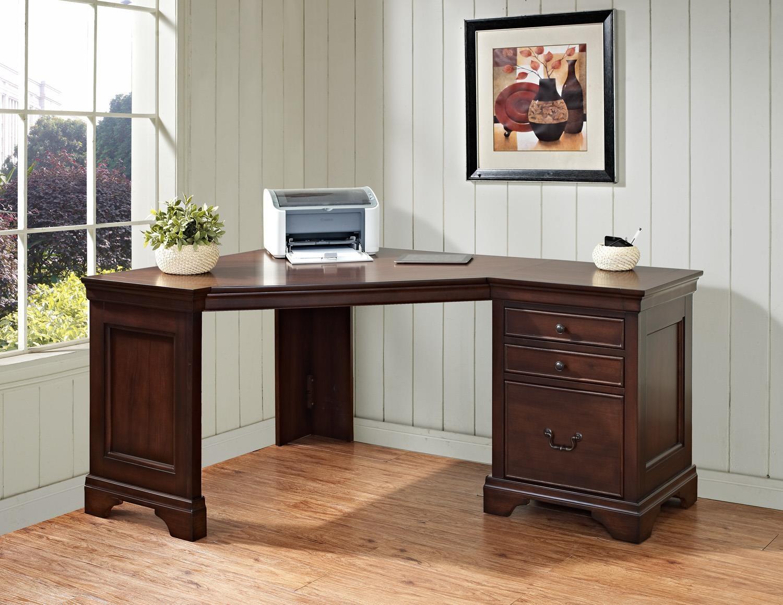 Turnkey Corner Desk ER BLC ODK60 D