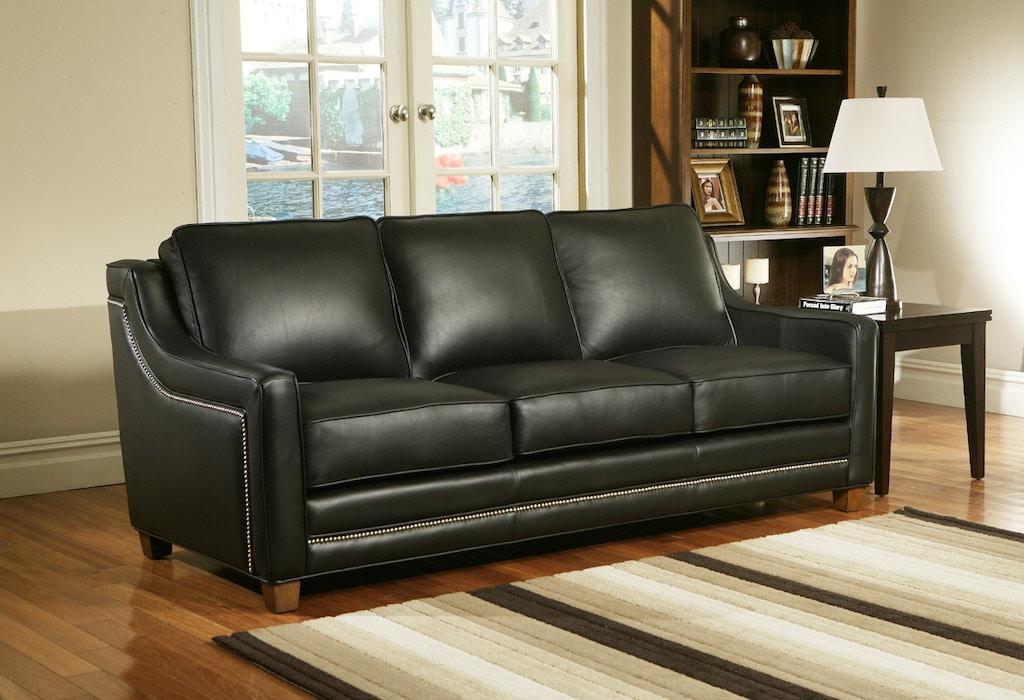 Omnia Leather 3 Seat Sofa Fifth Avenue 3c 13001