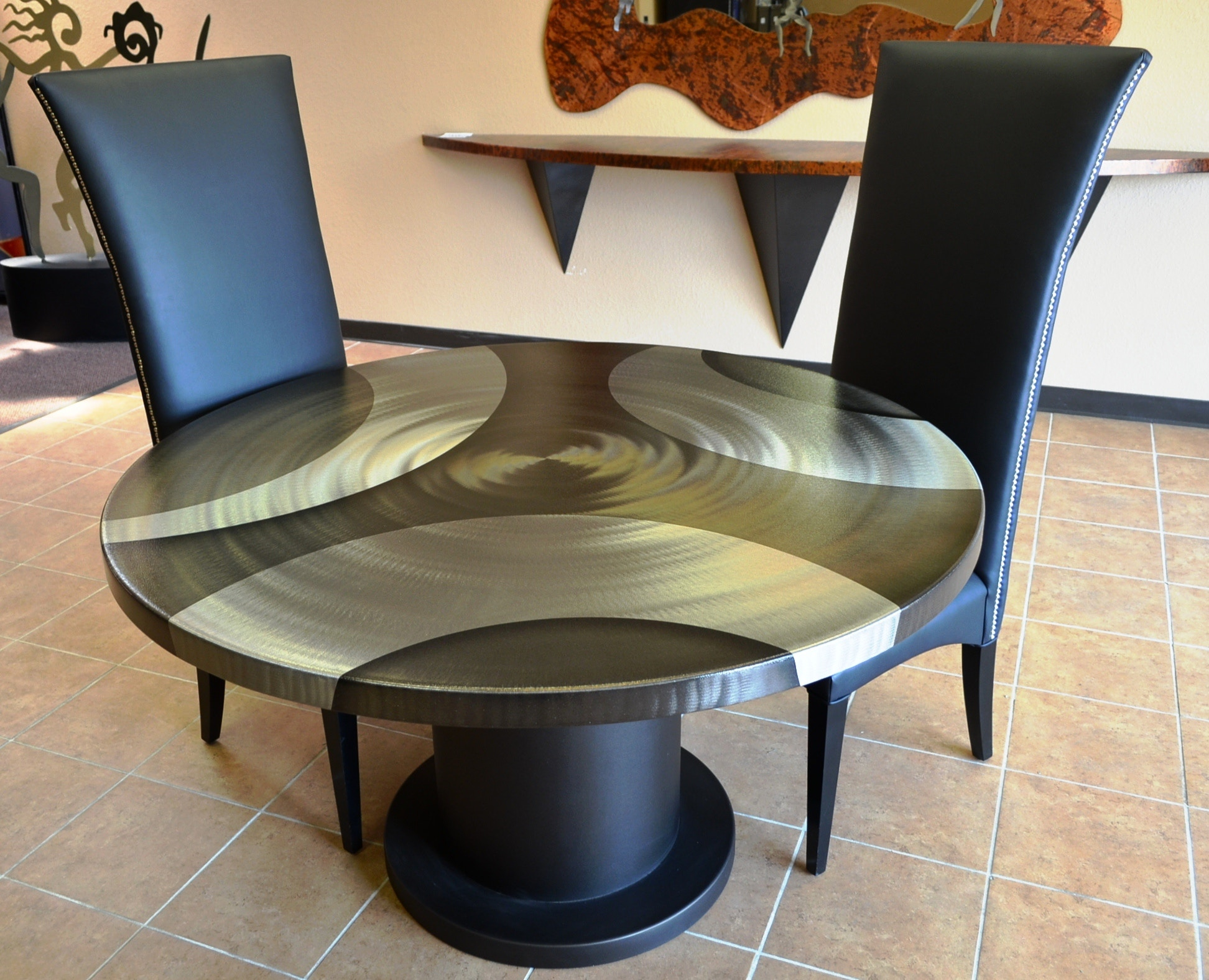 Oios Metals dining table