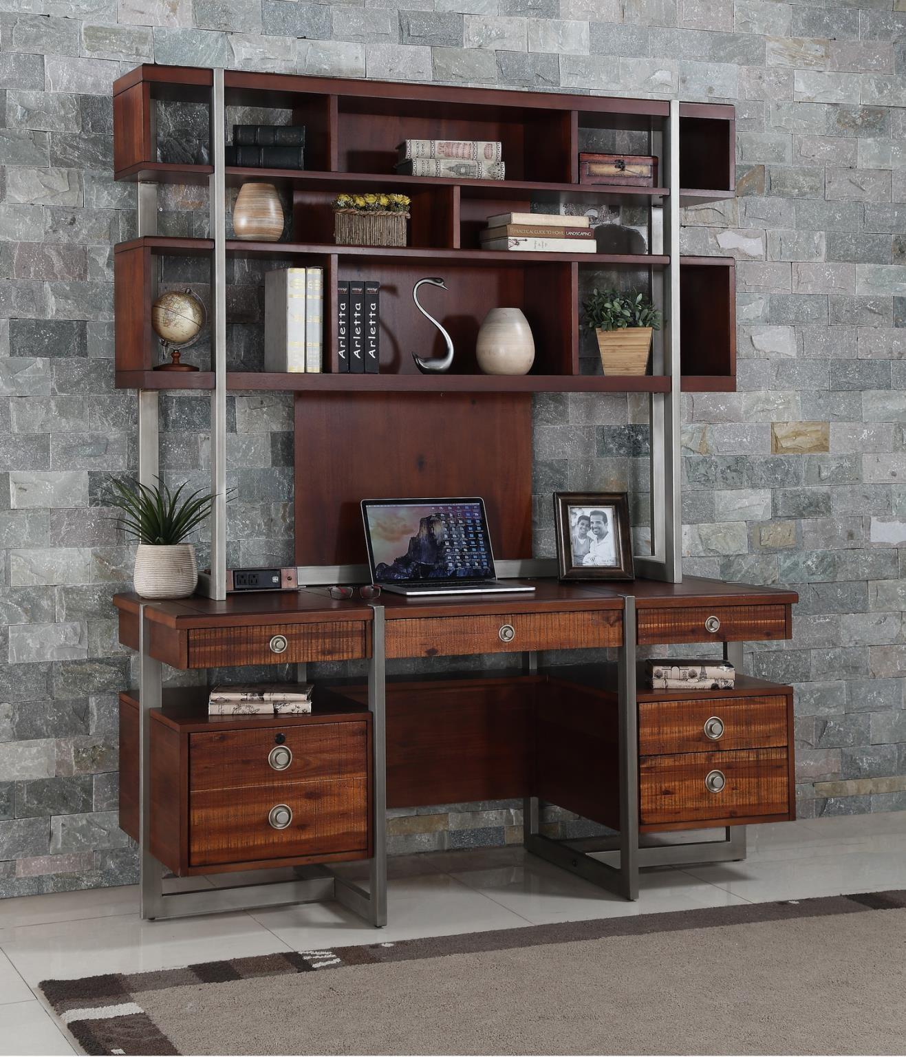 Turnkey Bookcase Desk IQ AUS DE66