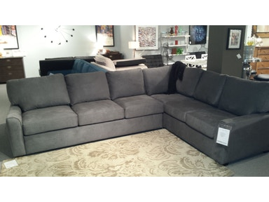 American Leather Sectional Kalyn King Sleeper Sectional