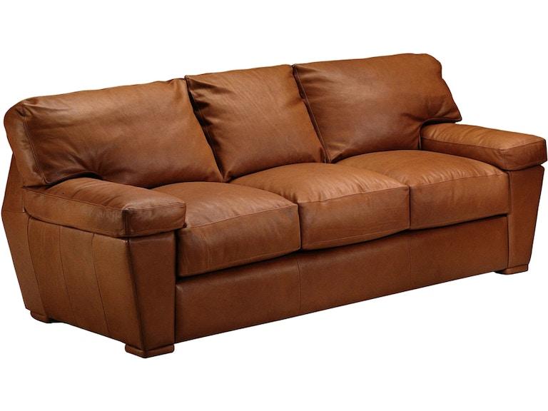 Omnia Leather Prescott 3 Seat Sofa Prescott13001