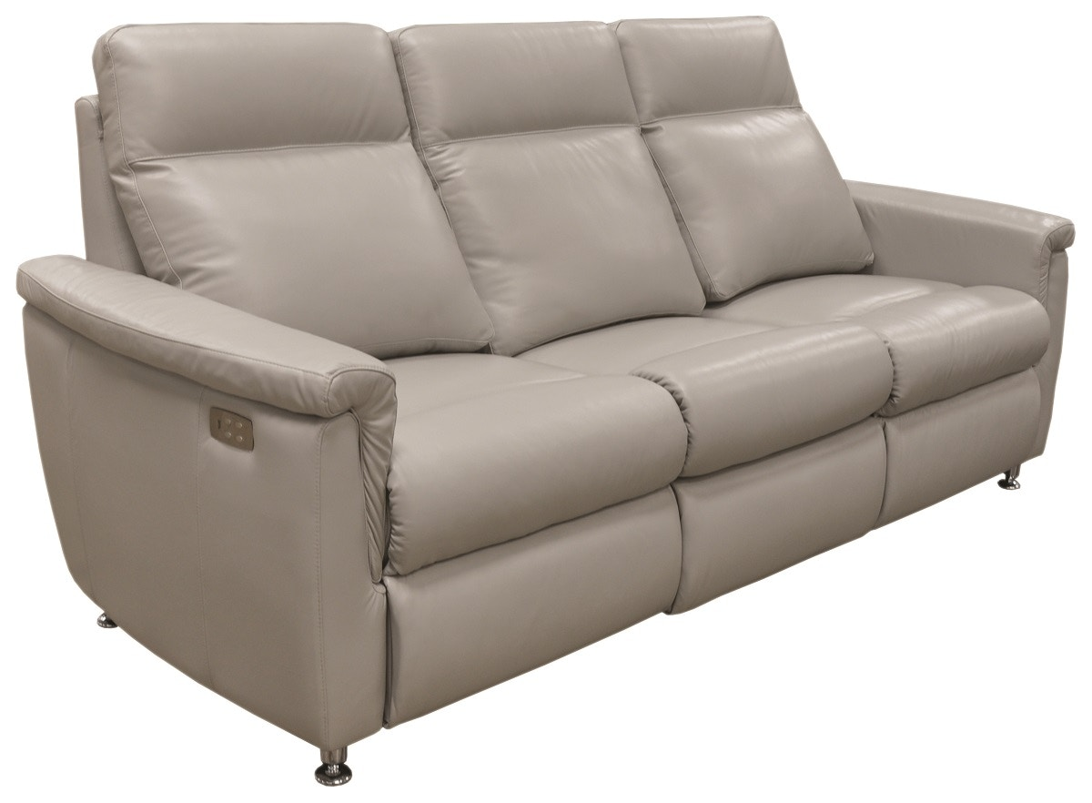 Omnia Leather POWER SOLUTIONS RECLINING SOFA PS 509