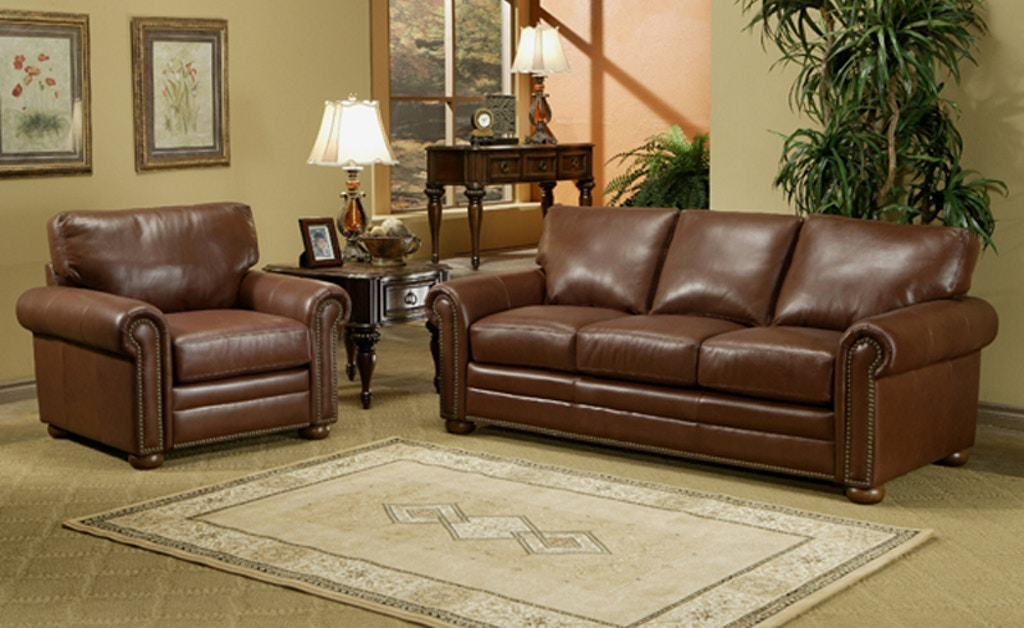 Savannah 3c Sofa All Top Grain Leather