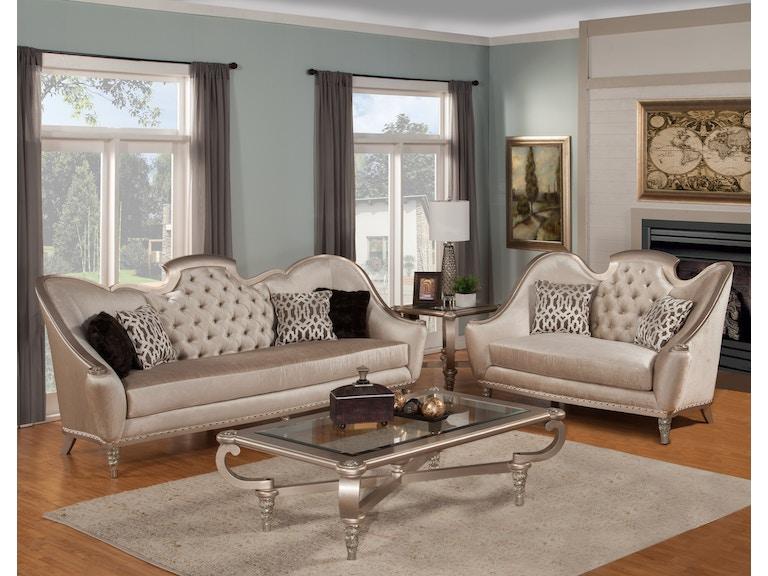 Benettis Italia Elegant Italian Design Furniture Sofia Living Room
