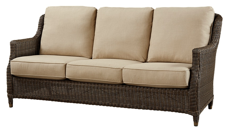 Beachcraft Outdoor Patio Brighton Collection Brighton Sofa Zing