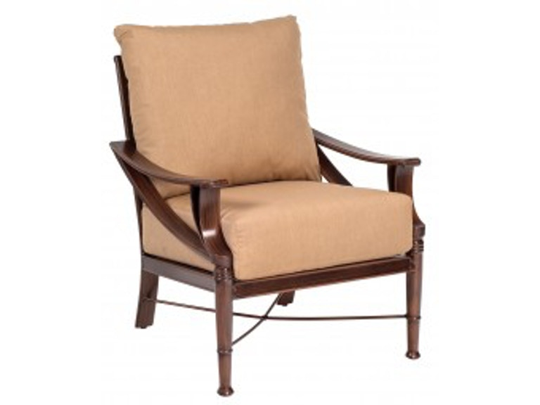 Woodard Outdoor Patio Arkadia Cushion Stationary Lounge Chair