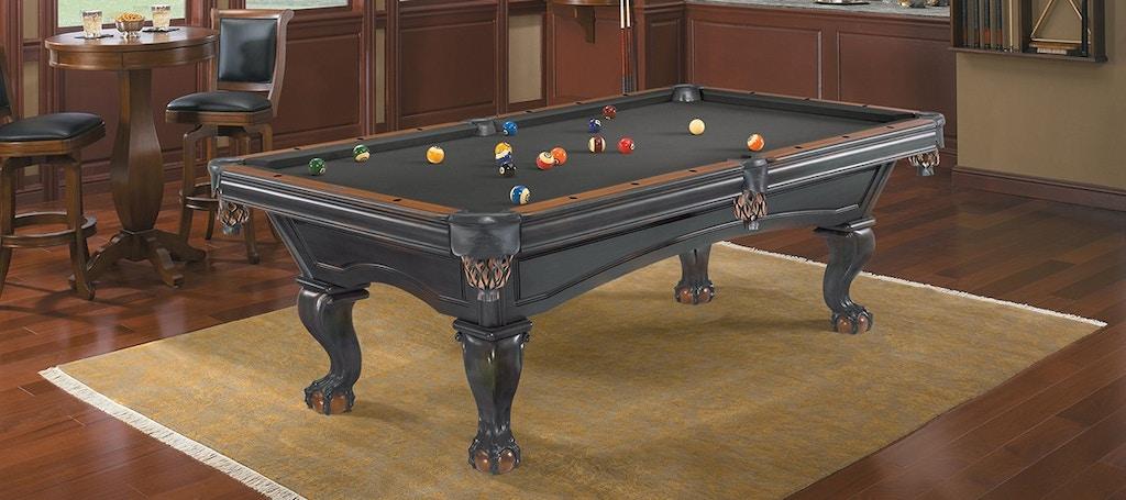 Brunswick Bar And Game Room 8 Foot Glenwood Glendwood Blk