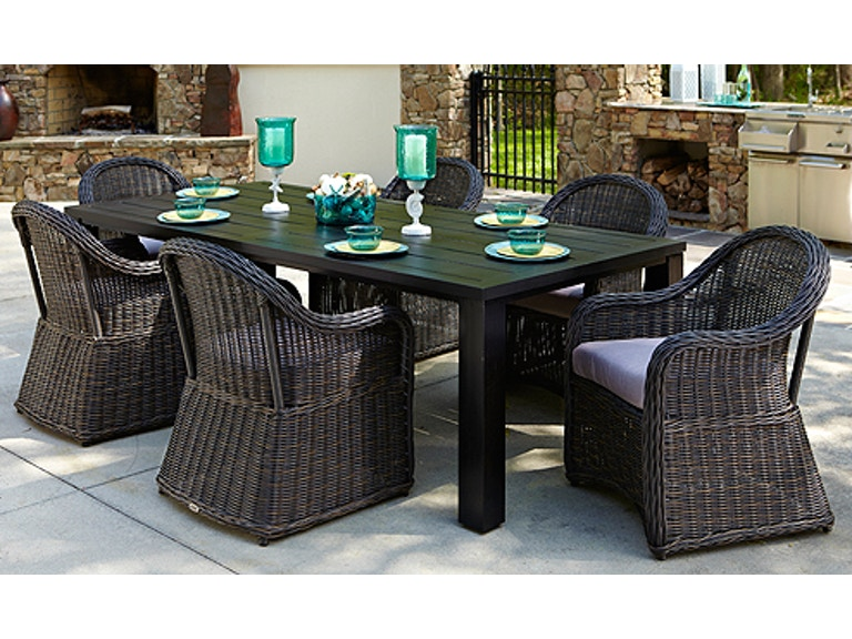 Anacara Outdoor Patio Mariner Collection Mariner6dininghunt7263 At Zing Casual Living