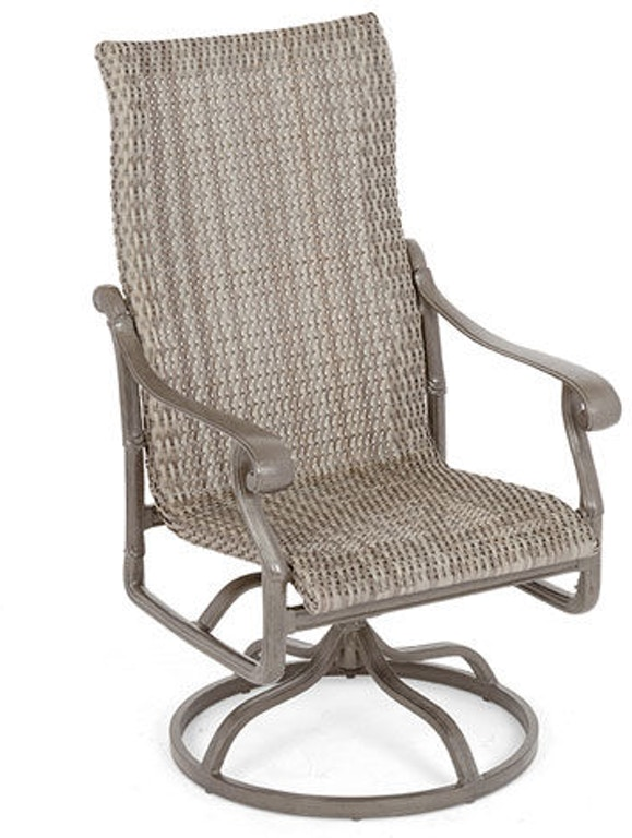 Enjoyable Florence Aluminum Resin Wicker Swivel Rocker Gmtry Best Dining Table And Chair Ideas Images Gmtryco