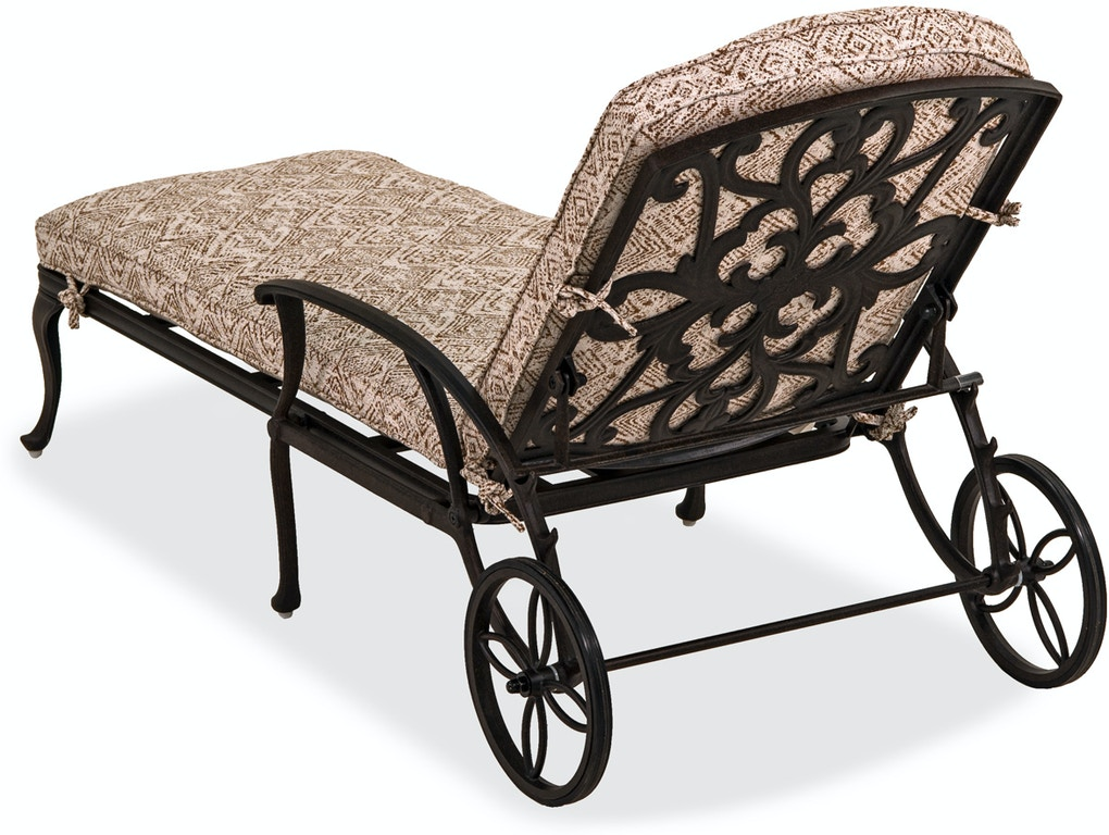 Outdoor/Patio Carlisle Aged Bronze Adjustable Chaise