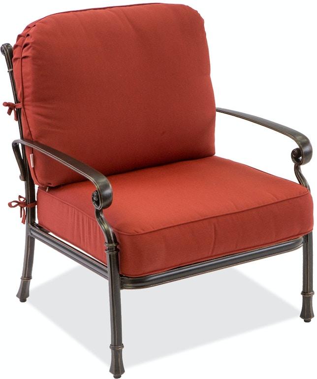Outdoor/Patio Canvas Henna Club Chair Cushion