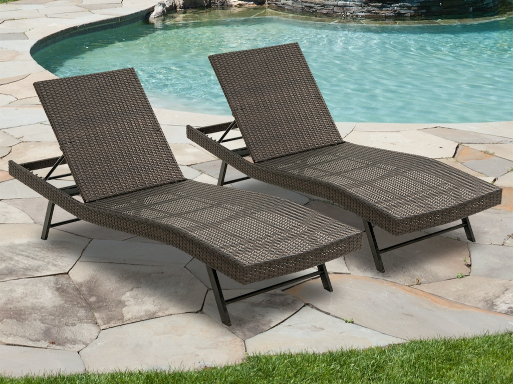 Round Folding Dining Table, Living Room Barbados Coffee Aluminum And Outdoor Wicker 2 Pc Contour Chaise Lounge 7829595
