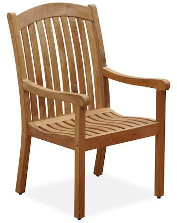 Outdoor Patio Eastchester Teak High Back Dining Chair 1863984 Fortunoff Backyard Store Houston