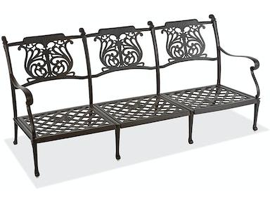 Outdoor/Patio Naples Aged Bronze Cast Aluminum Sofa Frame 2189560