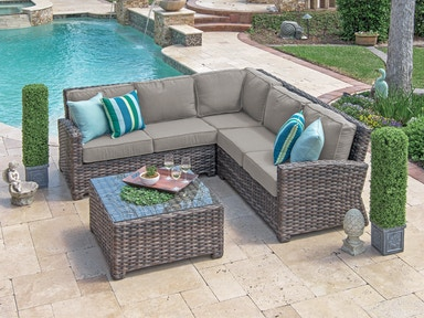 Outdoor Furniture Sectionals - Fortunoff Backyard Store - Houston, TX