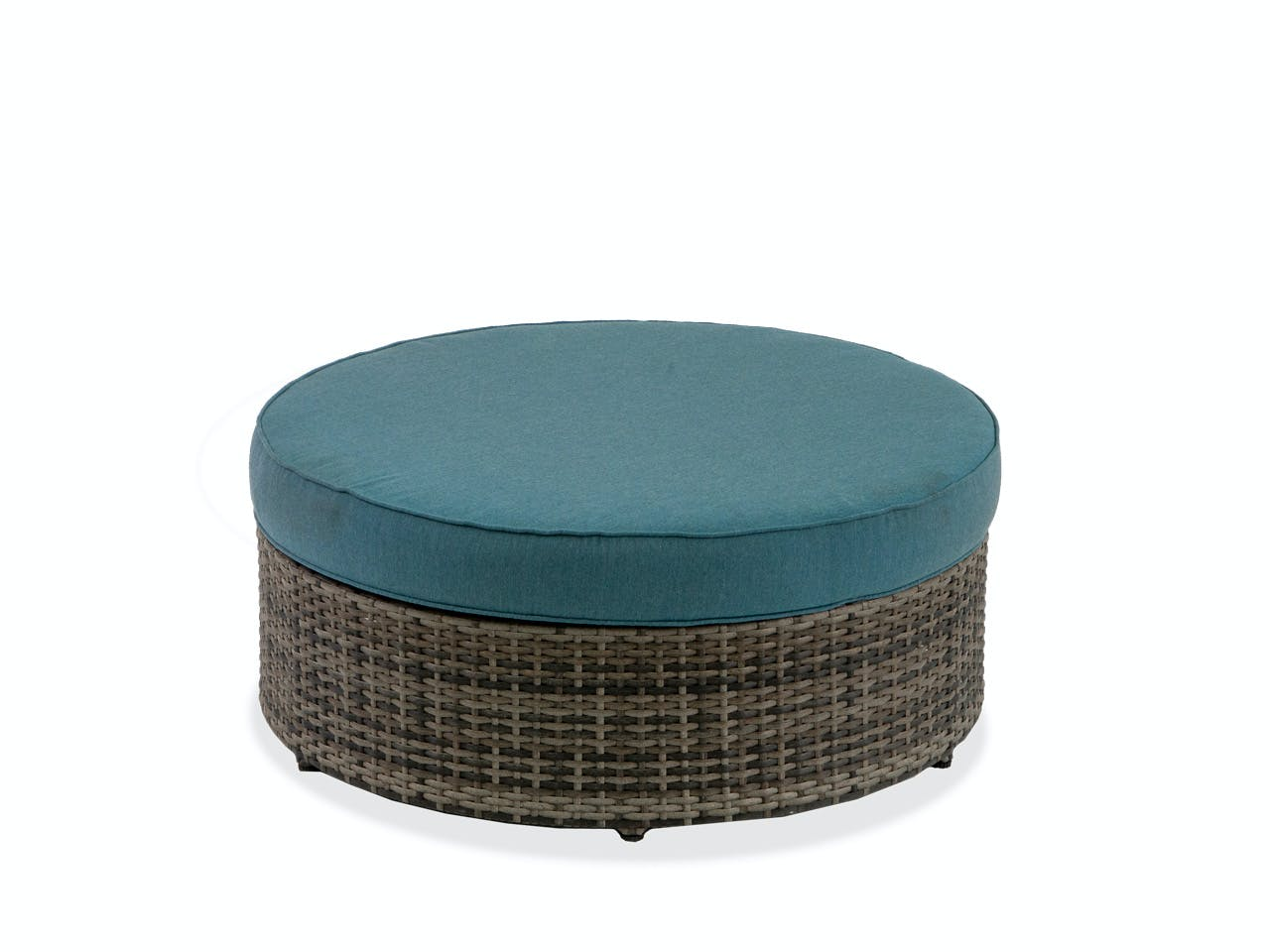 Outdoor Patio San Lucas Canola Seed Outdoor Wicker Ottoman Frame Only 6860494 Fortunoff Backyard