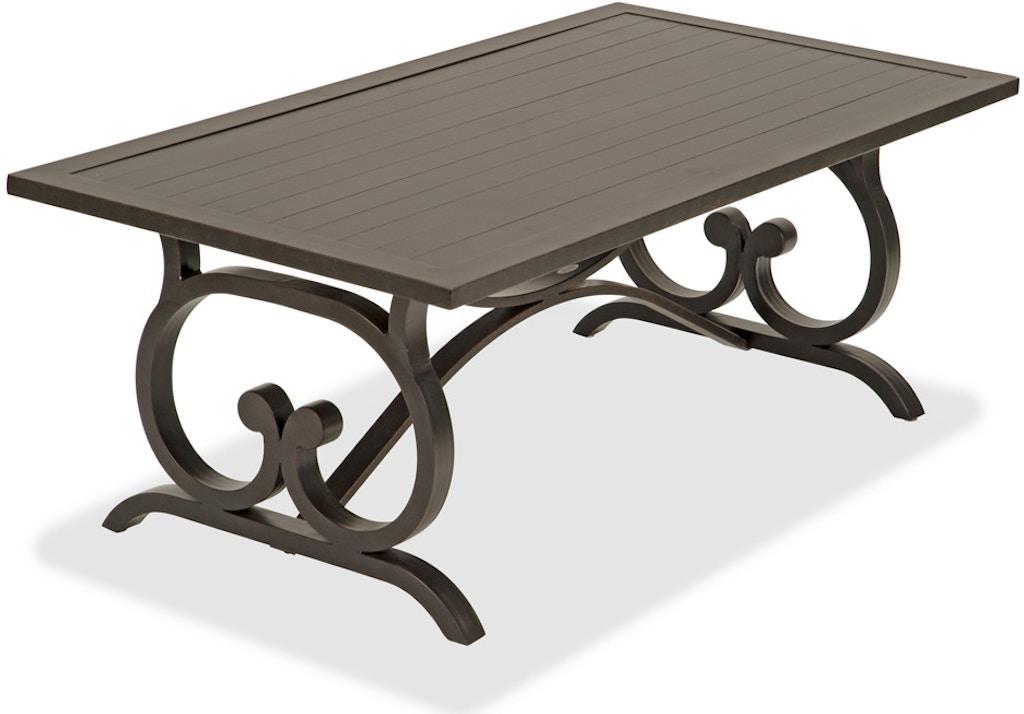 48 X 48 Coffee Table.Newbury Aged Bronze Aluminum 48 X 26 In Coffee Table