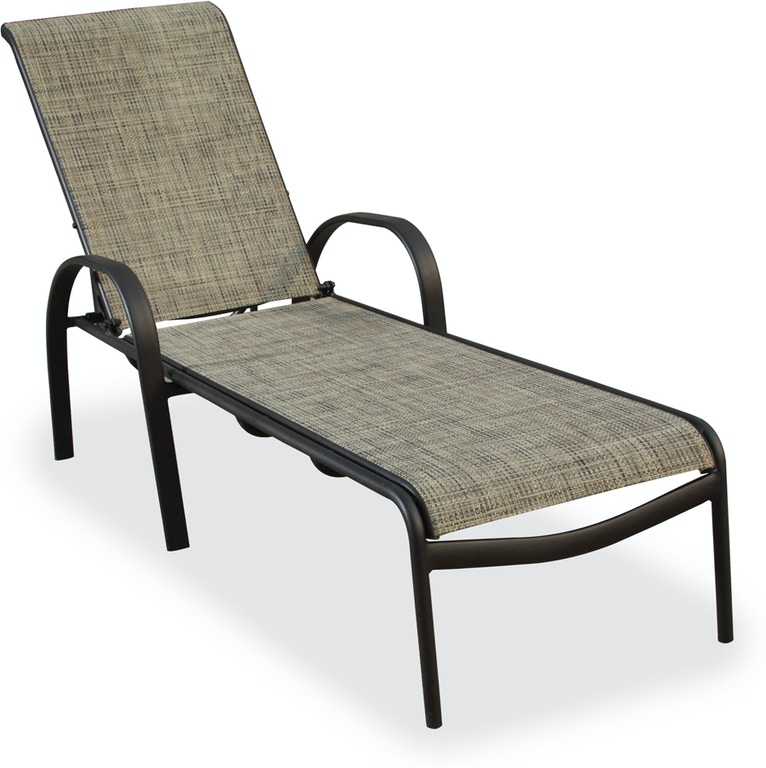 Round Folding Dining Table, Outdoor Patio Cape Cod Java Aluminum And Desert Wicker Sling Chaise Lounge 7570910 Fortunoff