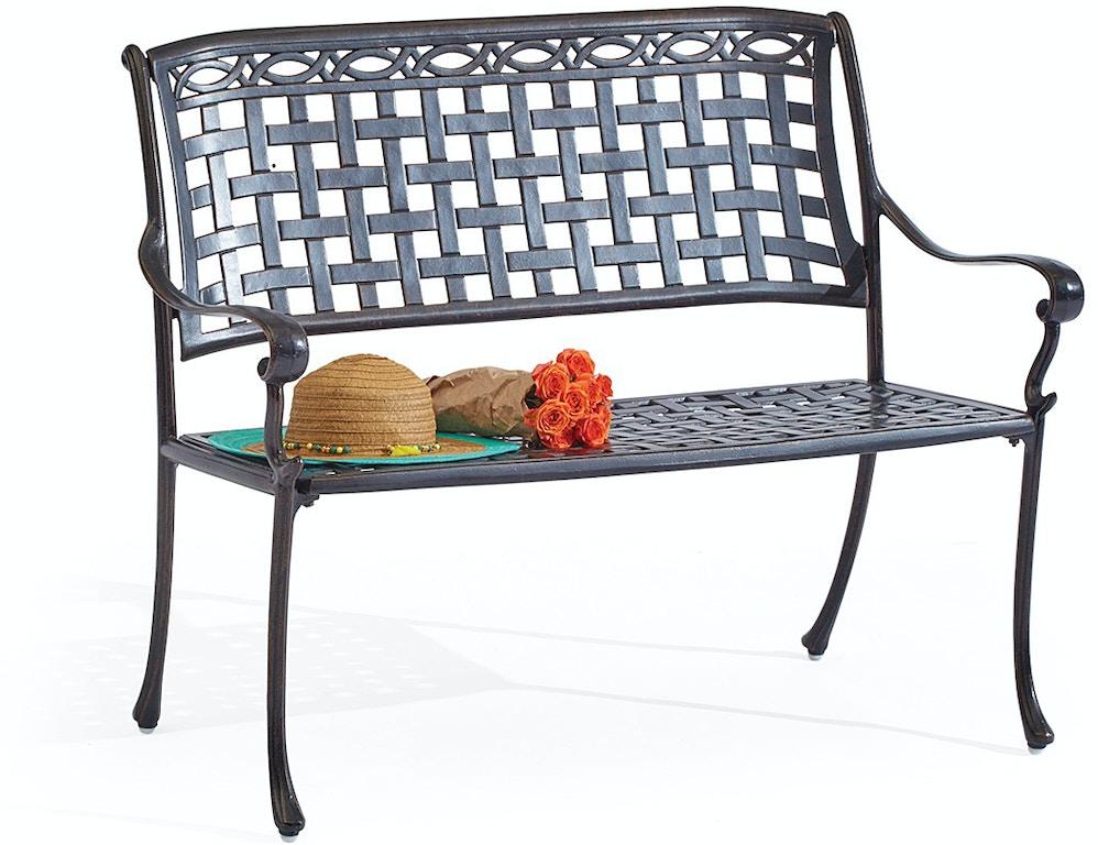 Superb San Remo Aged Bronze Cast Aluminum Park Bench Bralicious Painted Fabric Chair Ideas Braliciousco