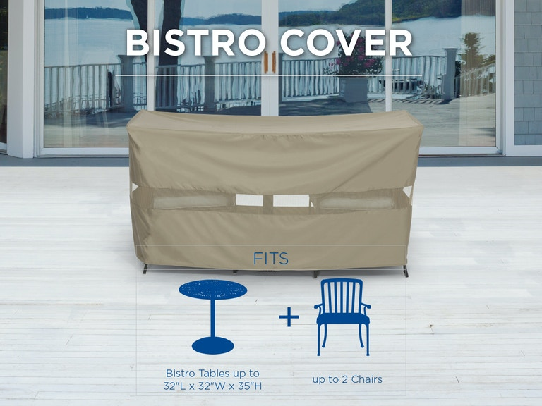 Outdoor/Patio Bistro Cover 5129319 - Fortunoff Backyard ...
