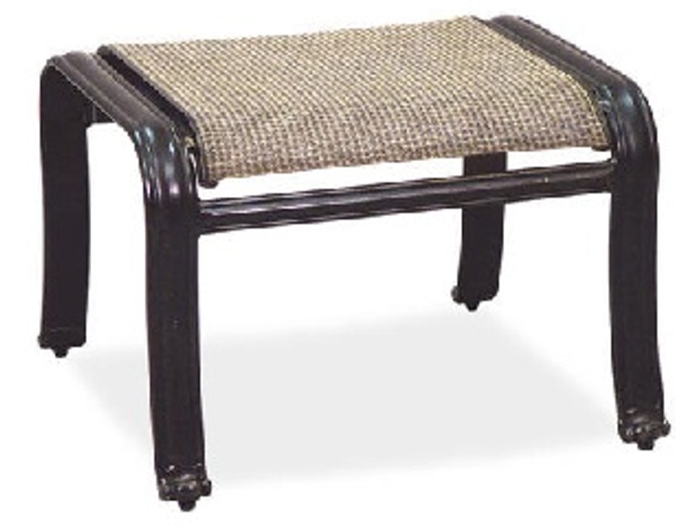 Pleasant Carlsbad Sling Aluminum Ottoman Ocoug Best Dining Table And Chair Ideas Images Ocougorg