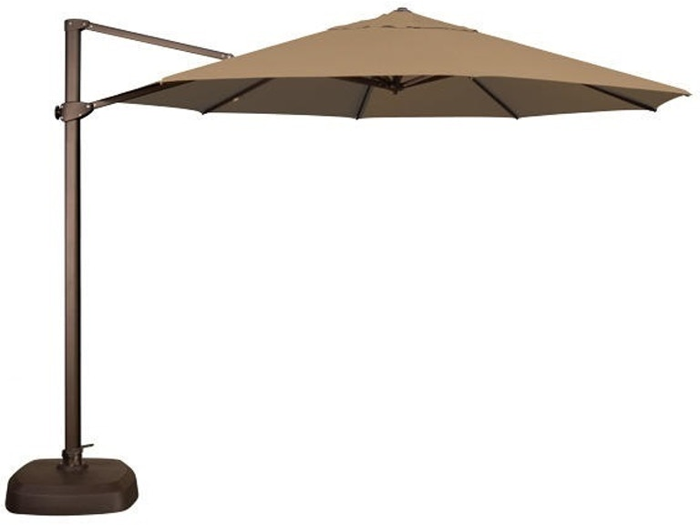 8ab200f338cfe Outdoor/Patio Treasure Garden Mocha 11' Cantilever Umbrella