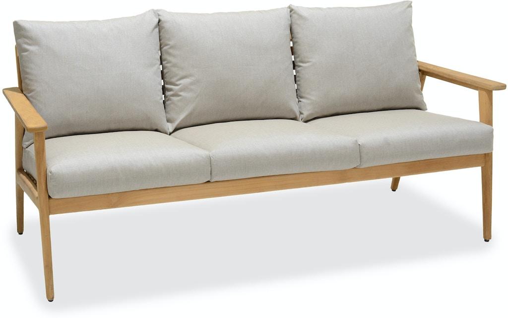 Cast Ash Sunbrella Sofa Cushions
