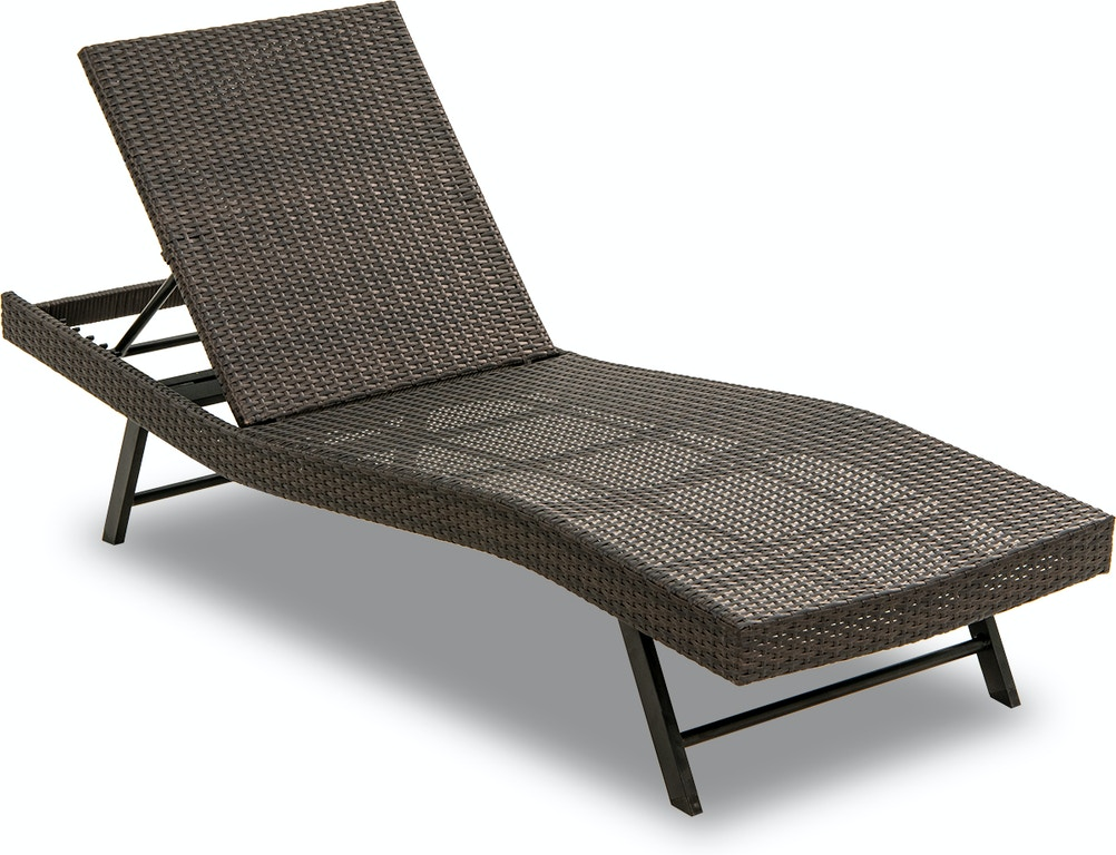 Round Folding Dining Table, Outdoor Patio Barbados Coffee Aluminum And Outdoor Wicker Contour Chaise Lounge 3697969 Chair