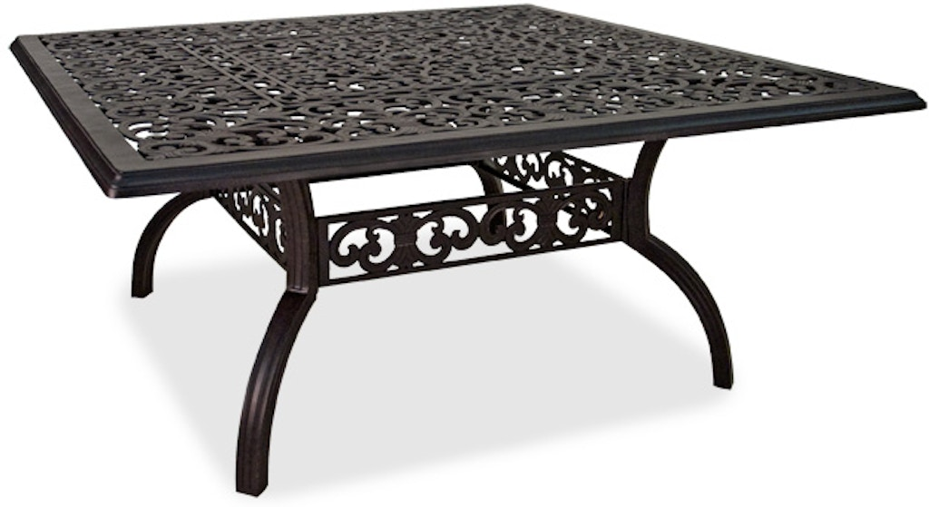 Outdoor/Patio Milan 64 In. Square Cast Aluminum Dining Table 2231782 - Chair King - Houston, TX