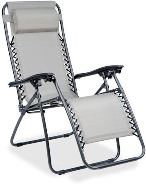 Terrific Garden Classics Titanium Aluminum South Beach Zero Gravity Recliner Machost Co Dining Chair Design Ideas Machostcouk