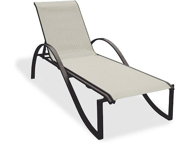 3348029 South Beach Sling Stackable Chaise Lounge