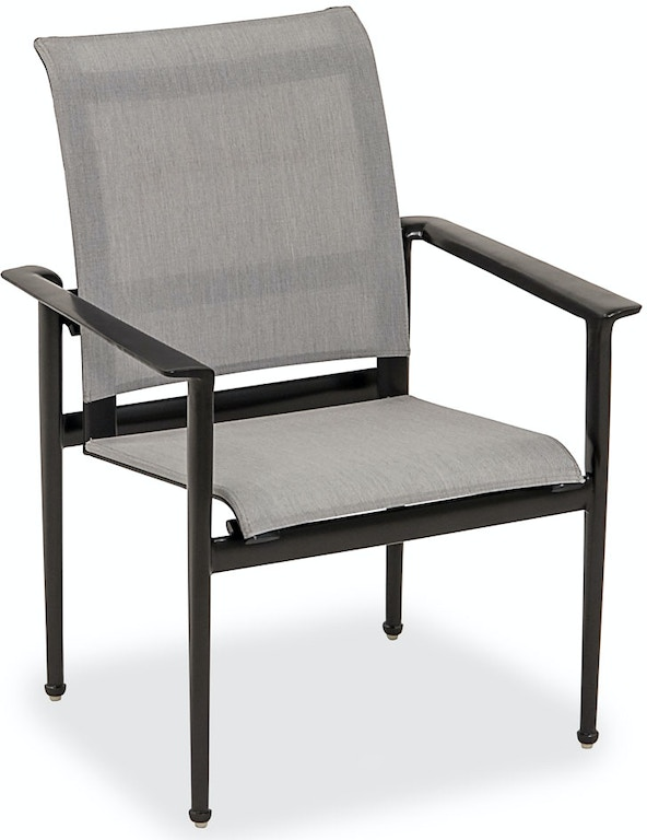 Hanamint Metro Meteor Aluminum Sling Dining Chair 3529926 On