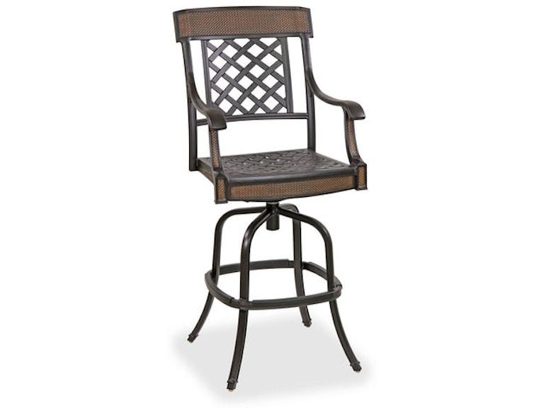 Awesome Lexington Cast Aluminum Swivel Barstool Machost Co Dining Chair Design Ideas Machostcouk