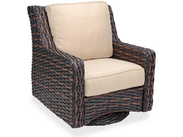 Marvelous Tangiers Aluminum Woven Outdoor Wicker Swivel Glider Club Chair Beatyapartments Chair Design Images Beatyapartmentscom