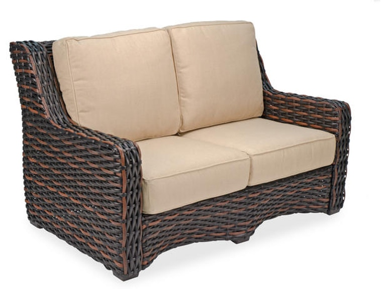 Enjoyable Tangiers Aluminum Woven Outdoor Wicker Loveseat Cjindustries Chair Design For Home Cjindustriesco