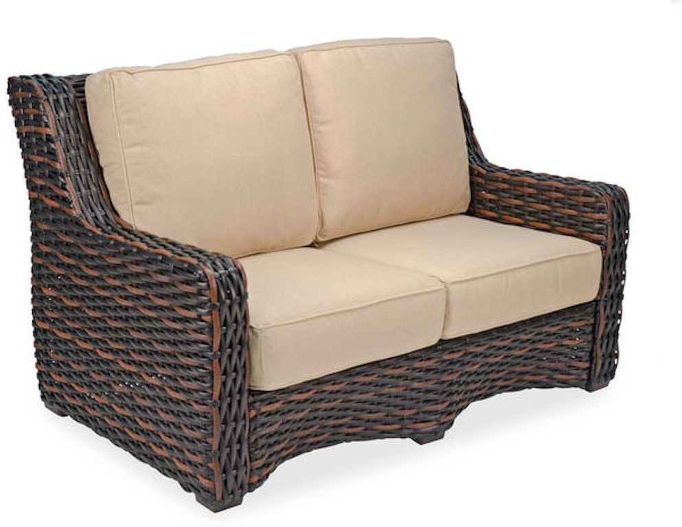 Outdoor Patio Tangiers Aluminum Woven Outdoor Wicker Loveseat 2855445 Chair King Houston Tx