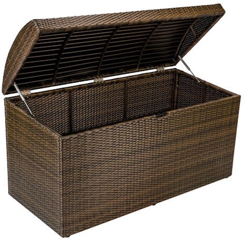 Havana Woven Outdoor Wicker Cushion Storage Box