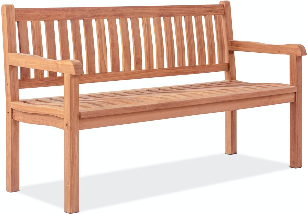 Red Oak Kitchen Table, Outdoor Patio Teak Garden Classics Natural Stain Solid Teak High Back Park Bench 3702614 Chair