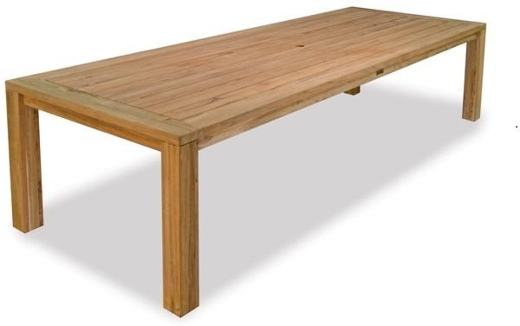 Mandalay Natural Stain Reclaimed Teak 118 X 43 In Dining Table