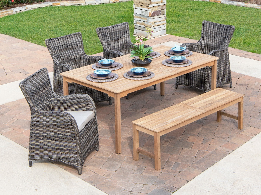 Outdoor Patio Mandalay Solid Teak