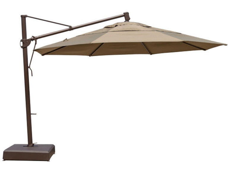 8eaa2d39609ef Outdoor/Patio Treasure Garden Pampas Linen 13' Cantilever Umbrella ...