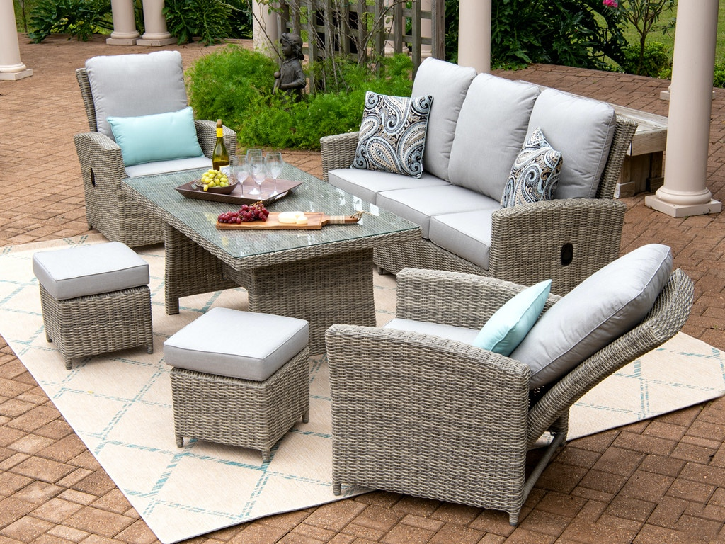 Patio Tuscany Oyster Outdoor Wicker