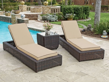 Outdoor Chaise Lounges | Chair King Backyard Store
