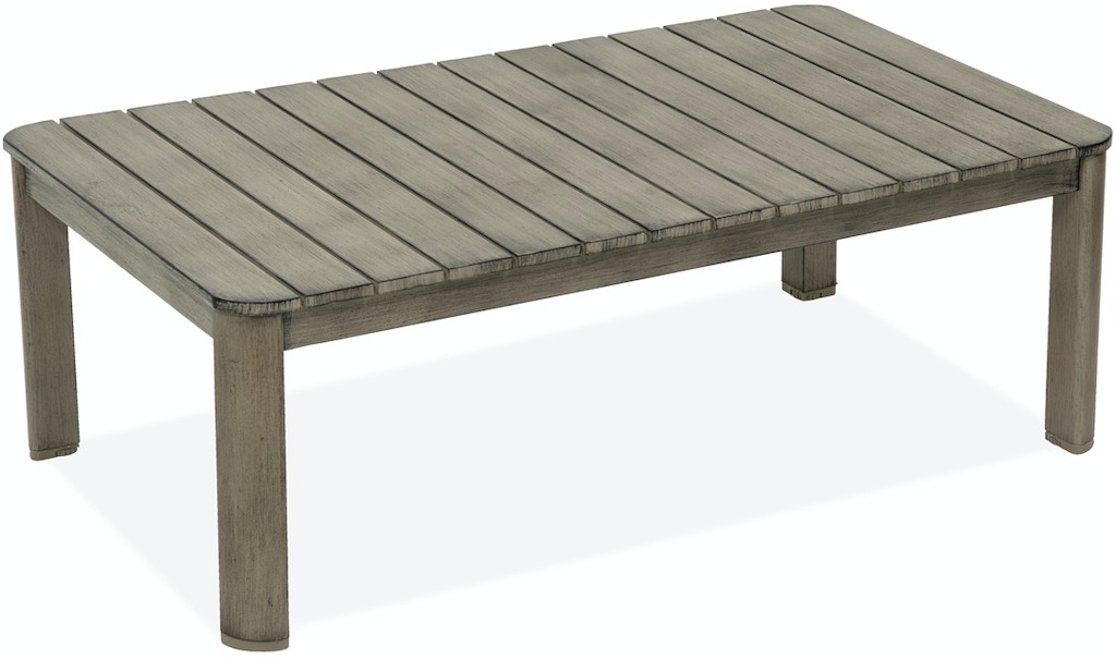 Superb Villa Salvaged Oak Aluminum Top Coffee Table Pabps2019 Chair Design Images Pabps2019Com